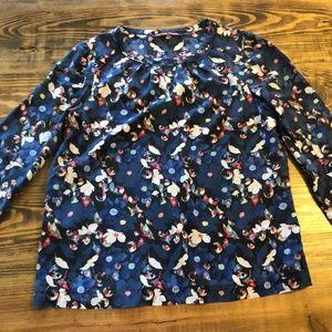 COMPTOIR DES COTONNIERS Floral blouse